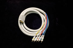 HDTV Cable stock image