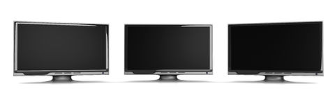 HDTV line Royalty Free Stock Photo