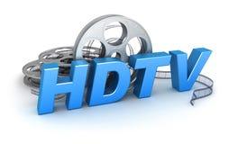 HDTV Video vector illustratie