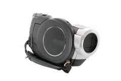Hdv. High definition - hdv camcoder isolated on white Royalty Free Stock Image