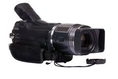 HDV camcorder royalty free stock photography