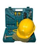 hełmów pudełkowaci instrumenty zdjęcie stock