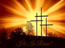 Free He Is Risen Stock Image - 51160351