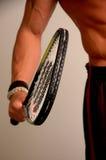 He S Got Himself A Racquet Stock Photography