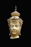 ็Headängelgud som bär en tiara Royaltyfria Bilder