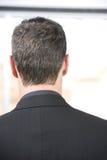 Head. Back of a business mans head Stock Photos