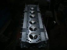 Head. Jaguar cylinder head Stock Photos