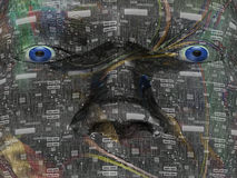 Head abstract - Background - 3D Stock Photos