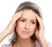 Head ache Royalty Free Stock Photos