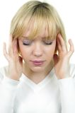 Head ache Royalty Free Stock Image