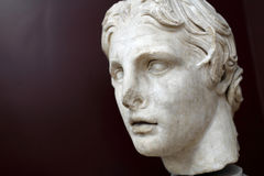 Head of Alexander the Great Stock Photography