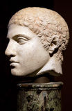 Head of an ancient Greek statue Stock Photography