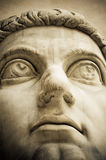 Head of ancient statue Royalty Free Stock Photography