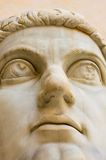 Head of ancient statue Royalty Free Stock Image