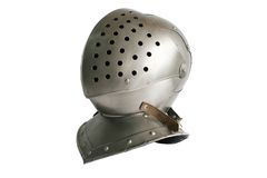 Head armour. On a photo a head armour is represented Stock Images