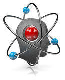 Head Atom Royalty Free Stock Image
