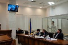 Head of  Azov-Crimea Civil Corps Stanislav Krasnov Stock Photos