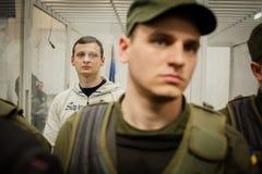 Head of  Azov-Crimea Civil Corps Stanislav Krasnov Stock Images