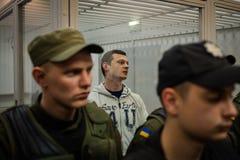 Head of  Azov-Crimea Civil Corps Stanislav Krasnov Royalty Free Stock Image