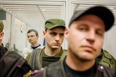 Head of  Azov-Crimea Civil Corps Stanislav Krasnov Stock Image