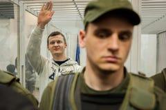 Head of  Azov-Crimea Civil Corps Stanislav Krasnov Royalty Free Stock Images
