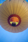 Chicken balloon rises Royalty Free Stock Image