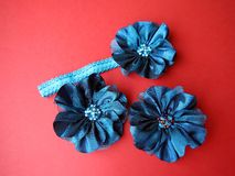Head band and brooch Royalty Free Stock Image