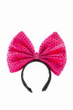 Head Bands with pink bow. Stock Images