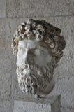 Head of bearded man statue Royalty Free Stock Image