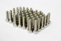 Head bolts. Stock Images