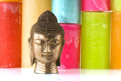 Head of buddha Royalty Free Stock Photography