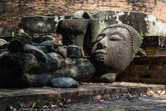 Head of Buddha Royalty Free Stock Photography