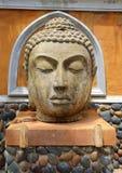 Head of Buddha Stock Photo