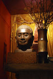 Head of buddha, Cambodia Stock Image