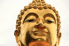 HEAD BUDDHA. Is in Changrai Thailand Stock Photo