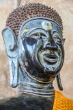 Head of Buddha image. Head of bronze Buddha image Royalty Free Stock Photos