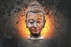 Head of buddha image Royalty Free Stock Photos