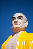 The head of Buddha's sculpture in Vietnamese monastery. The Buddha's sculpture Vietnamese monastery Stock Image