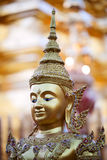 Head of Buddha statue Stock Image