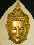 Head of Buddha statue Stock Photos