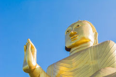 Head of Buddha statue Royalty Free Stock Photos