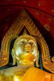 Head of buddha. Buddha of temple Stock Images