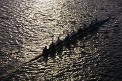 Head of the Charles Regatta Royalty Free Stock Image