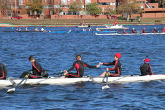 Head of the Charles Regatta 2016 Royalty Free Stock Photography