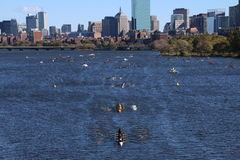 Head of the Charles Regatta 2016 Royalty Free Stock Photos