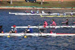Head of the Charles Regatta 2016 Stock Photos