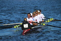 Head of the Charles Regatta 2016 Stock Image