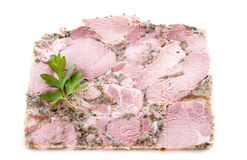 Head cheese Royalty Free Stock Photo
