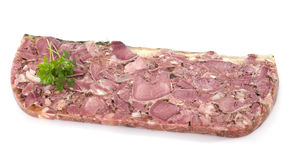 Head cheese Royalty Free Stock Photography