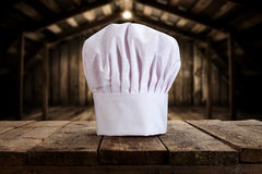Head chef cap Stock Image
